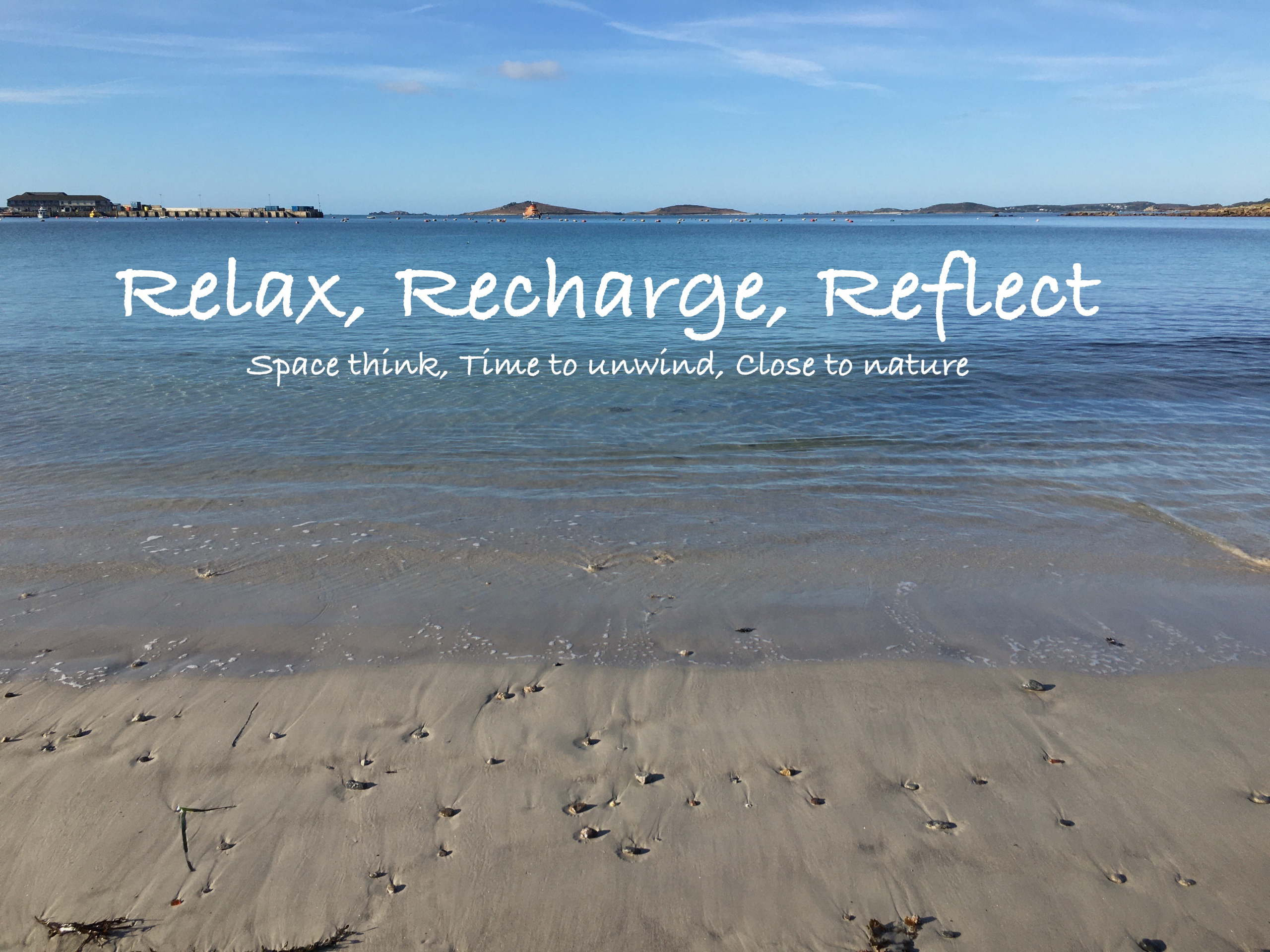 Relax, Recharge, Reflect